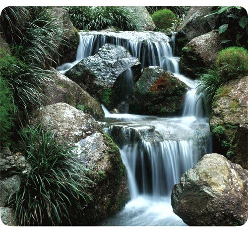 Fellowes Recycled Optical Mouse Pad Waterfall -
