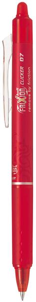 Pilot Frixion Clicker Erasable Pen Red -