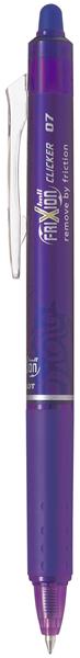 Pilot Frixion Clicker Erasable Pen Violet -