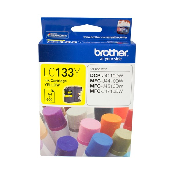 Brother Ink Cartridge LC133Y Yellow - pr_1765097