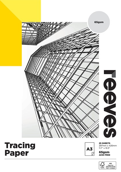 Tracing Paper Reeves A3 Pad 65gsm -
