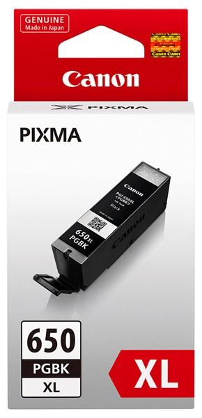 Canon Ink Cartridge PGI-650XL Black High Capacity -