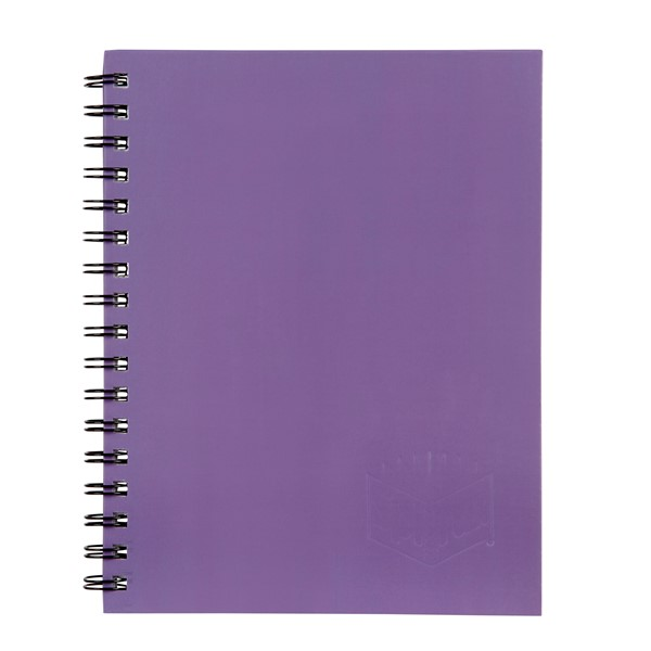 Spirax Notebook 225x175mm 200 Pages Purple - pr_1702061