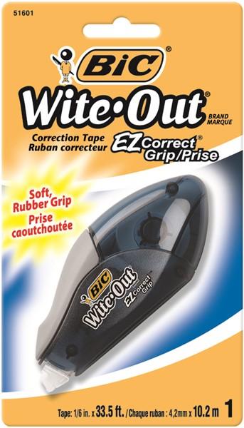 Bic Correction Tape Grip 4.2mm X 10.2m -