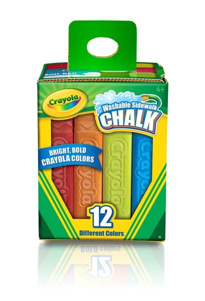 Crayola Sidewalk Chalk 12 Pack -