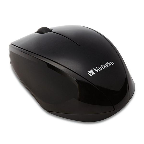 Verbatim Mouse Wireless Optical Multi-Trac Black -