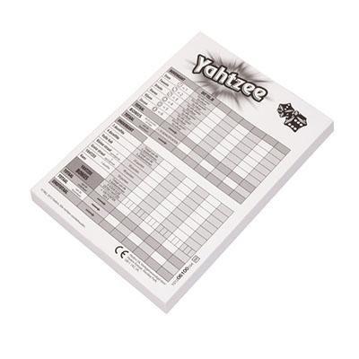Yahtzee Score Cards -