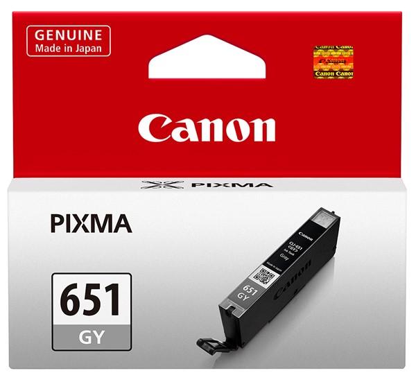 Canon Ink Cartridge CLI651GYOCN Grey Chromalife -