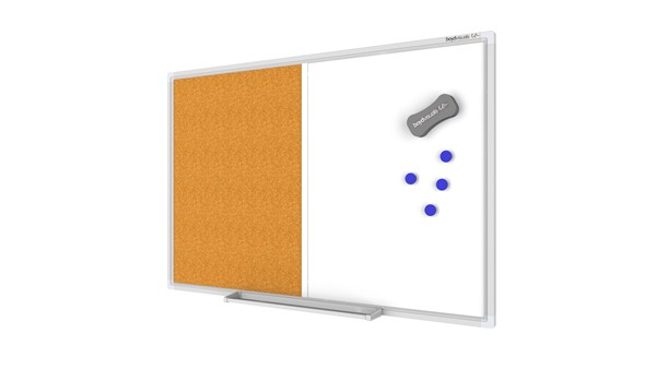 Boyd Visuals Whiteboard/Noticeboard 1200x1800 - pr_403865