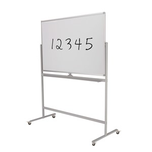 Boyd Visuals Mobile Whiteboard Lacquered 1200x1200