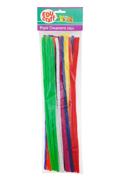 Educraft Pipe Cleaners 50 Pieces -