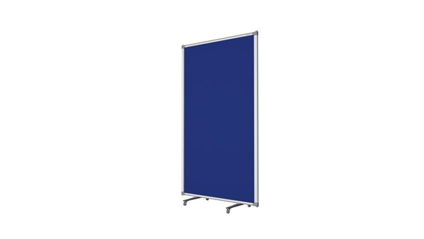Boyd Visuals Free Standing Partition 900 x 1500mm Blue - pr_403788