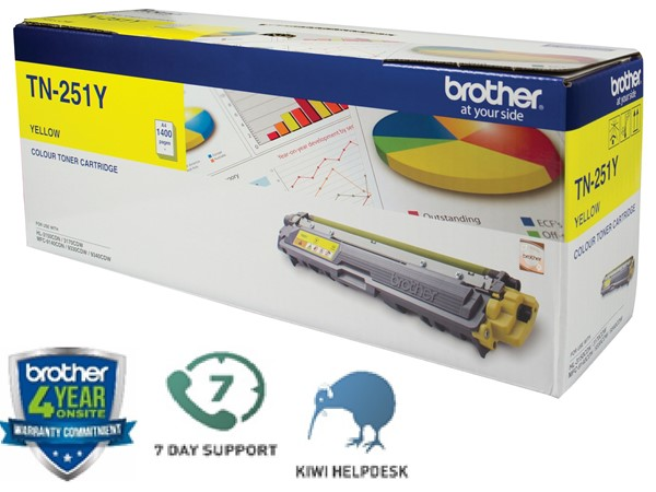 Brother Toner TN251Y Yellow -