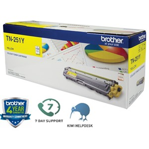 Brother Toner TN251Y Yellow