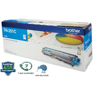 Brother Toner TN251C Cyan