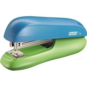 Rapid F6 Funky Stapler Blue/Green
