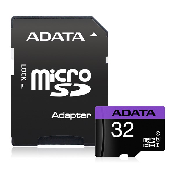 ADATA Premier microSDHC UHS-I Card with Adapter 32GB  -