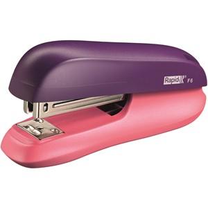 Rapid F6 Funky Stapler Purple/Pink