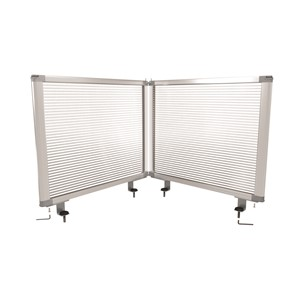Boyd Visuals Desk Mounted Partition 450 x 560mm Polycarbonate