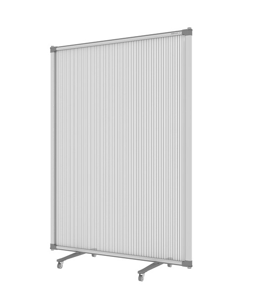 Boyd Visuals Free Standing Partition 900 x 1200mm Polycarbonate - pr_403805