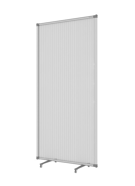 Boyd Visuals Free Standing Partition 900 x 1800mm Polycarbonate - pr_403806