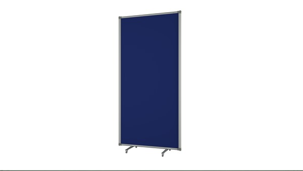 Boyd Visuals Free Standing Partition 900 x 1800mm Blue - pr_403810