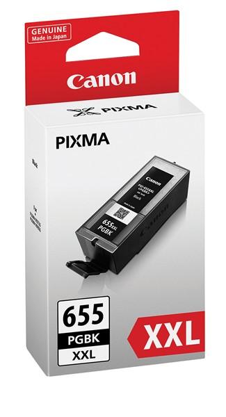 Canon Ink Cartridge PGI655XXLPGBKOCN Black High Capacity -