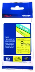 Brother P-Touch Tape TZE621 9mm Black On Yellow - pr_427617