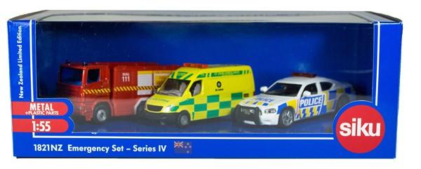 Siku 3 Piece NZ Emergency Set IV -
