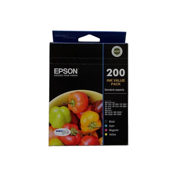 Epson Ink Cartridge 200 Value Pack - pr_1765116