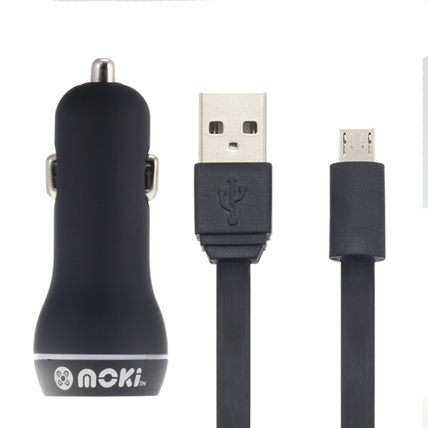 Moki MicroUSB SynCharge Cable & Car - pr_1699365
