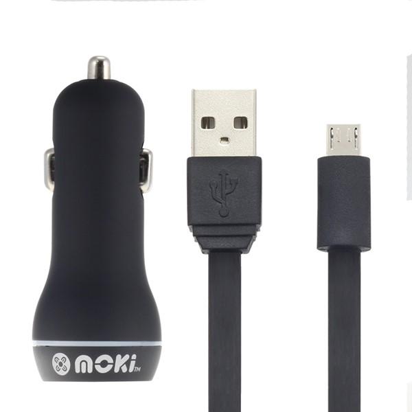 USB SYNCHARGER MOKI MICRO CABLE PLS CAR - pr_1699365