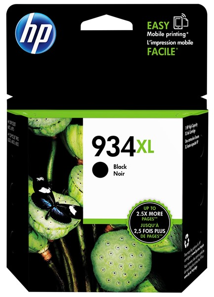 HP Ink Cartridge C2P23AA 934XL Black High Capacity -