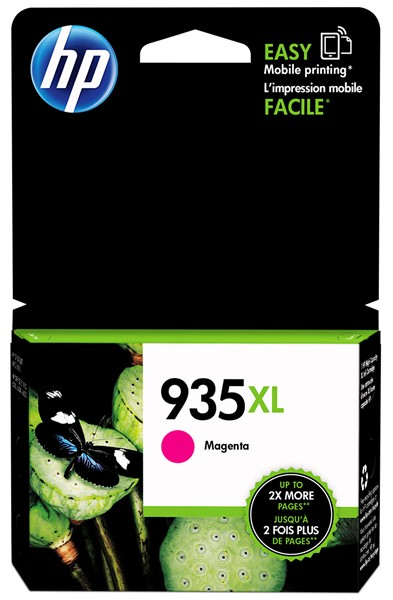 HP Ink Cartridge C2P25AA 935XL Magenta High Capacity -