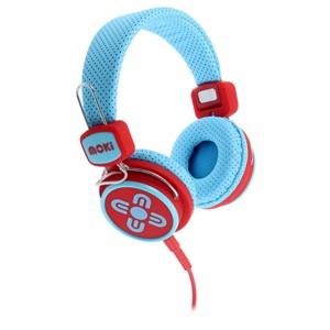 Moki Headphone Kids Safe Blue/Red