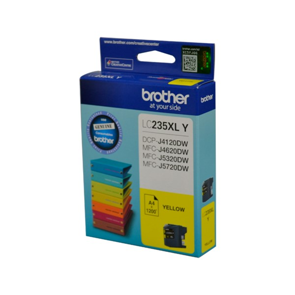 INK CART OEM BROTHER LC235XLY XL YELLOW - pr_1765151