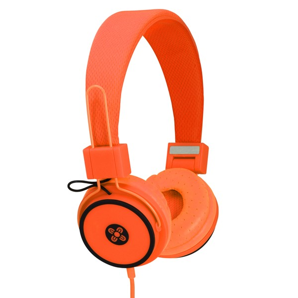 Moki Hyper Headphones Orange -