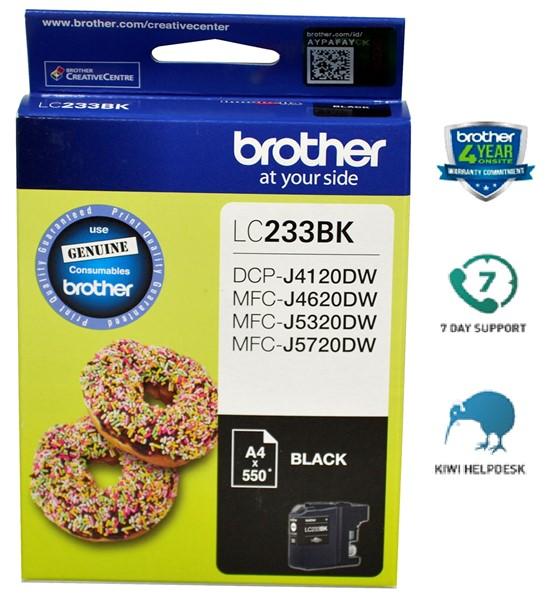 Brother LC233BK Ink Cartridge Black -