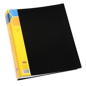 Marbig Display Book Insert Spine A4 60 Pockets Black