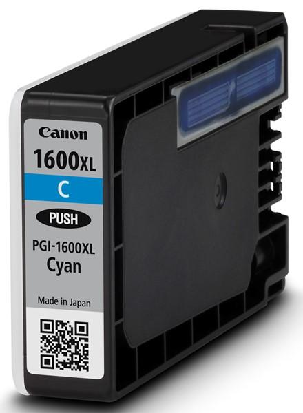 Canon Ink Cartridge PGI1600XL Cyan -