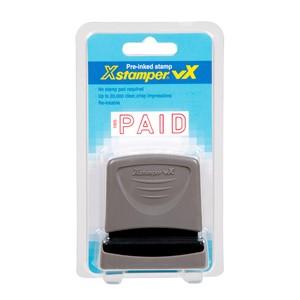 XStamper VX-B 1005 Paid Outline Red