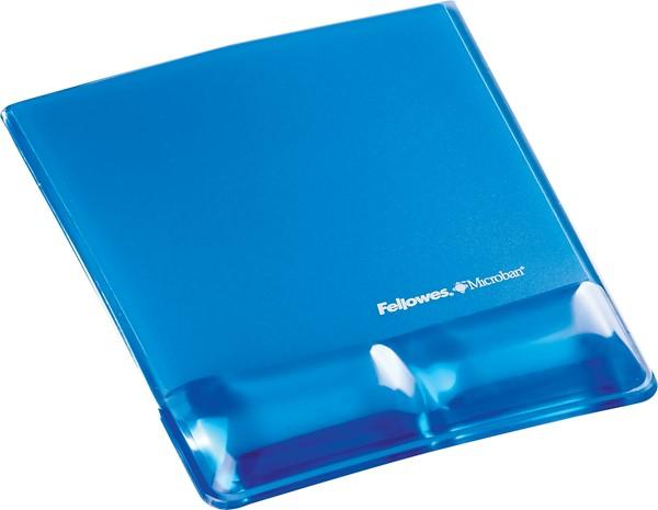 Fellowes Gel Wrist Support Mouse Pad Blue - pr_1721366