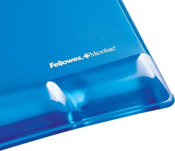 Fellowes Gel Wrist Support Mouse Pad Blue - pr_1721398