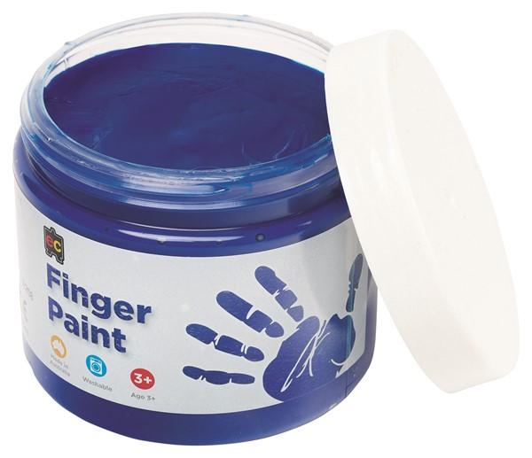 FINGER PAINT EDVAN 250ML BLUE - pr_1774192