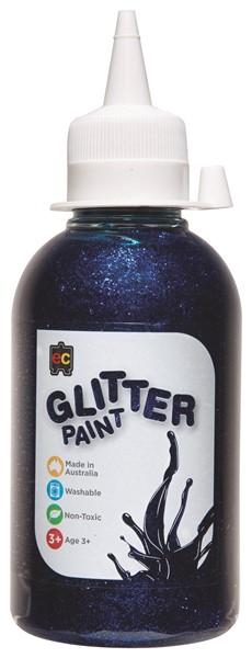 GLITTER PAINT EDVAN 250ML BLUE - pr_1774118