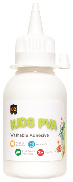 EC Kids Washable PVA Glue 125ml - pr_1774042