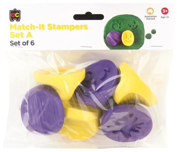 EC Stamper Match It Set A Pack 6 -