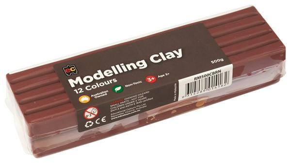 MODELLING CLAY 500GM BROWN - pr_1774143