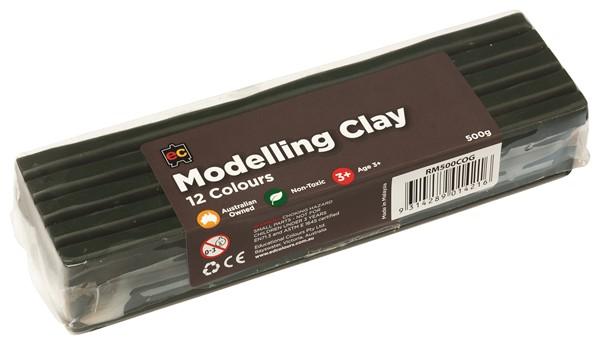 EC Modelling Clay Olive Green 500gm -