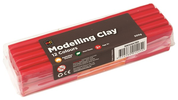 MODELLING CLAY 500GM RED - pr_1774189